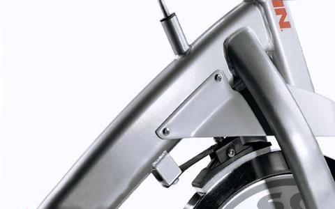 bicicleta de ciclismo indoor con freno de zapata