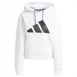 Sudadera Adidas Sportswear Relaxed color blanco