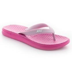 Sandalia Nike Solay Thong Print Rosa