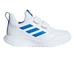 Adidas AltaRun CF K Blanco/Azul