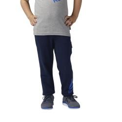 Pantalón Reebok Boys Essentials Big Logo Azul