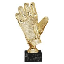 Trofeo Guante de Oro 24 cm
