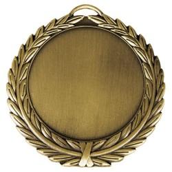 Medalla Deportiva Twin Dorada 70mm Personalizada