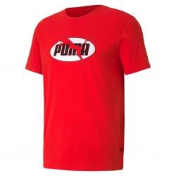 Camiseta Puma Flock Tee Rojo