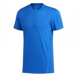 Camiseta Adidas Aeroready 3 Bandas Azul