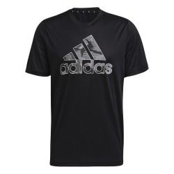 Camiseta Adidas Camuflaje Graphic Negra