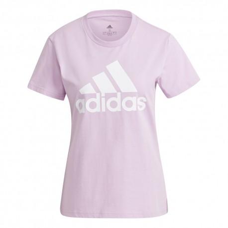 Camiseta Adidas Essentials Lila
