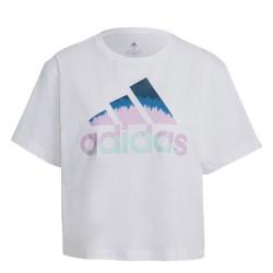 Camiseta Adidas Corta Cropped Graphic