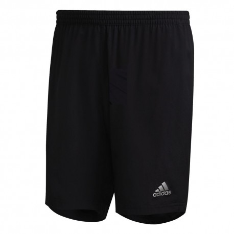 "Pantalón Corto Adidas Run It Negro 7"""