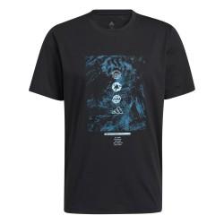 Camiseta Adidas Graphic Sea Black
