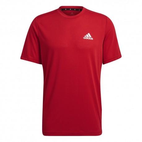 Camiseta Adidas D2M Feelready Red