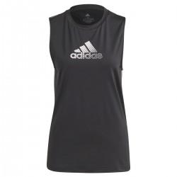Camiseta De Tirantes Adidas To Move Negra