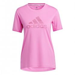 Camiseta Adidas Badge of Sport Necessi Pink