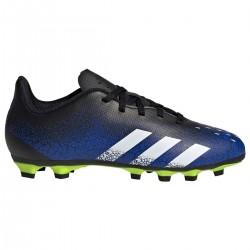 Adidas De Fútbol Predator Freak.4 Multitacos color Azul, negro y amarillo flúor