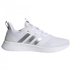 Zapatilla Adidas Puremotion  color Blanco y Plata