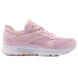 Zapatillas de running color rosa, ligera, flexible y cómoda