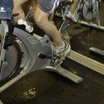 bicicleta en el gimnasio