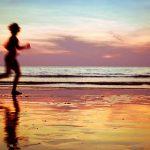 practicando deporte en verano