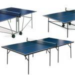 Tres mesas de ping pong