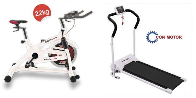 bicicleta spinning vs cinta correr
