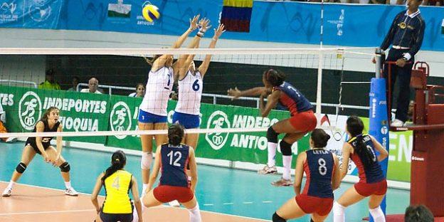 partido de voleibol femenino
