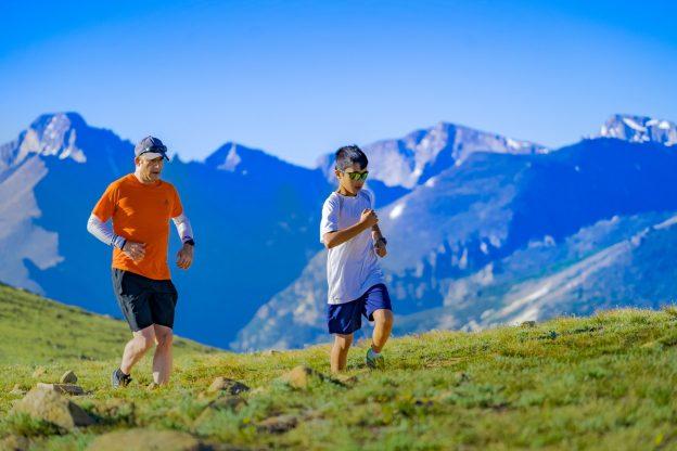 Corriendo por la montaña