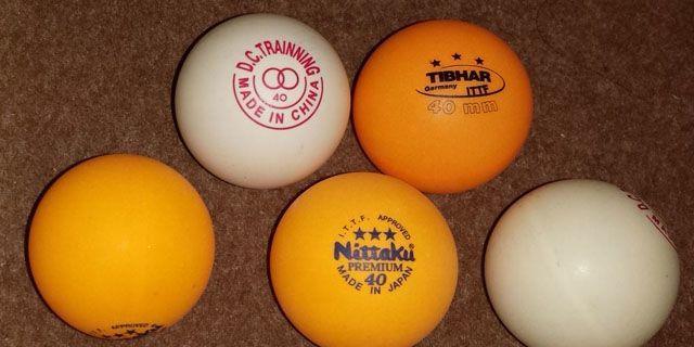 7cb53f067 Pelotas de plástico o celuloide  Última controversia en tenis de ...