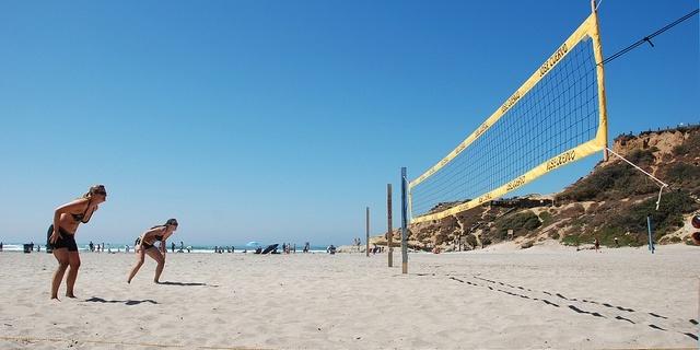 Red de voleibol playa