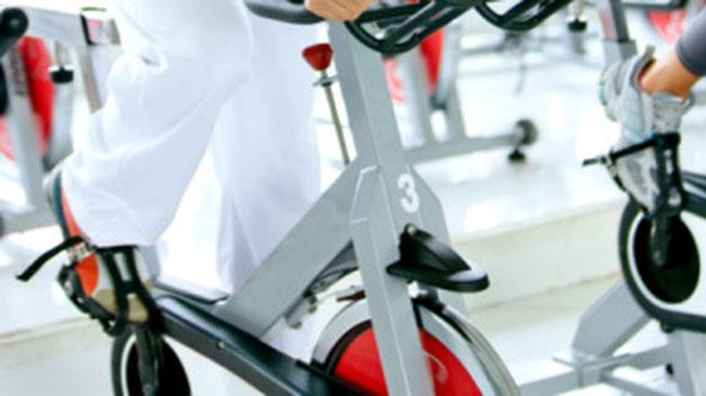 Se adelgaza con la bicicleta eliptica