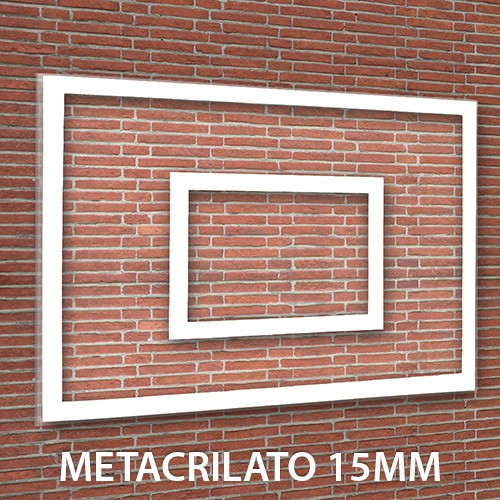 Tablero Minibasket Metacrilato 15 mm