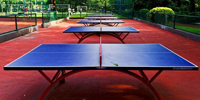 Mesa de ping pong de interior o de exterior blog for Mesa de ping pong exterior