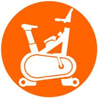 icono bicicletas de ciclo indoor